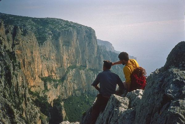 Arrampicata nel sud Italia. Fonte immagine: www.altrispazi.it