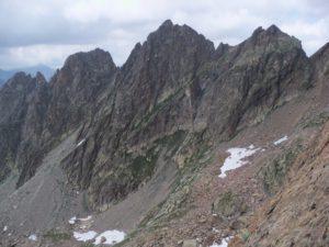 ALPINISMO punta De Cessole Alpi Marittime 4