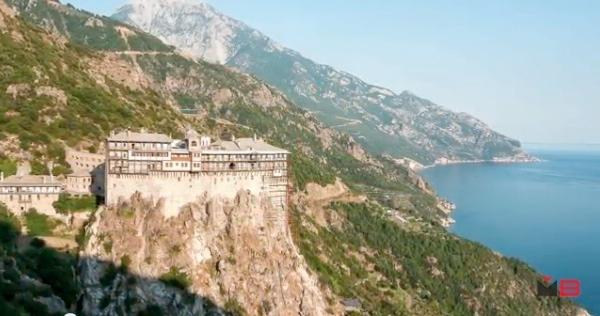 """Immagine tratta dal libro """"Sul Monte Athos"""", di Fabrizio Ardito"""