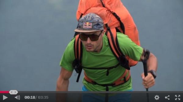 Aaron Durogati, preparazione al Red Bull X-Alps 2015. Clip 2