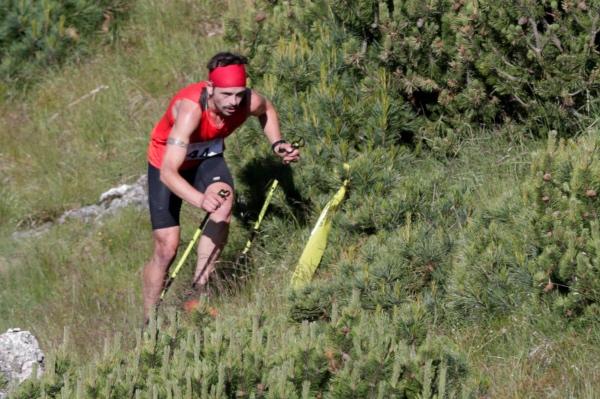 Philip Goetsch al Verticale del Cornon 2015 - 10^ Stava Mountain Race. Foto: Modica-Russolo-Martini-Varesco