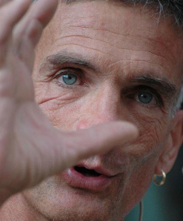 """Maurizio """"Manolo"""" Zanolla. Fonte immagine: pagina facebook """"Manolo"""""""