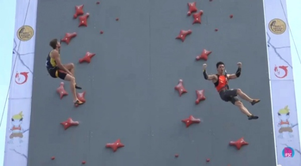 Speed World Cup 2015, Chongqing. Fonte: IFSC