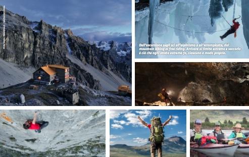 Rifugio Quinto Alpini. Immagini da locandina