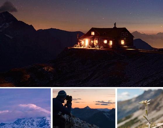 Trekking fotografico. Fonte immagini: Rifugio Quinto Alpini