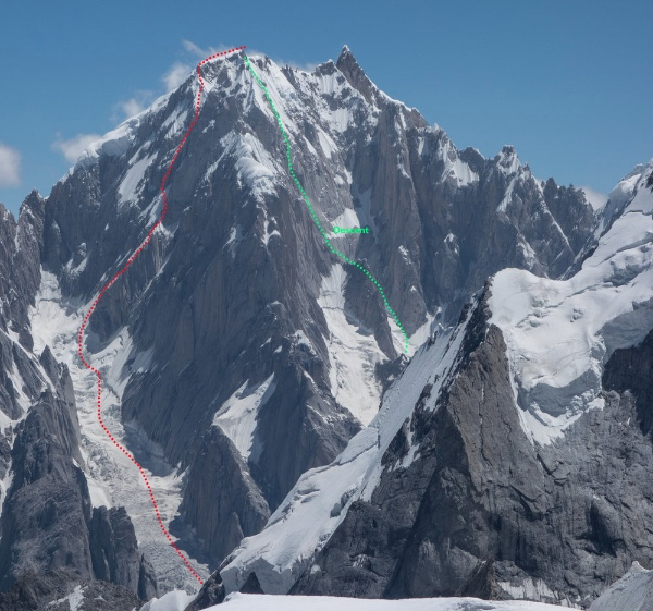 """La via """"Fever Pitch"""", Link Sar. Foto: Jon Griffith/The North Face"""