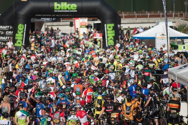 Bike Transalp 2015, 5^ tappa. Fonte immagine: pagina facebook evento