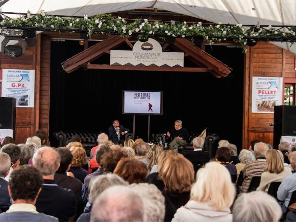 Festival delle Nuove Vie, Courmayeur. Fonte: press evento
