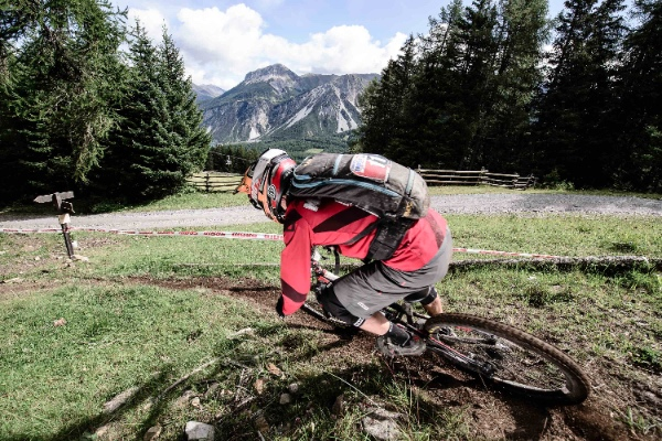 Resia. Mtb enduro. Fonte: press European Enduro Series, Val Venosta.