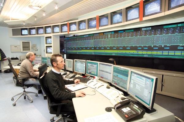 Postazioni di controllo in Italia del Traforo del Monte Bianco. Fonte immagine: tunnelmb.net
