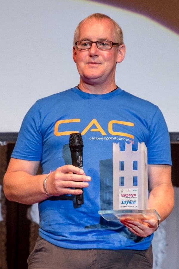 John Ellison, premio Dryarn Climbing Ambassador by Aquafil 2015. Credits: Foto&Ricordi