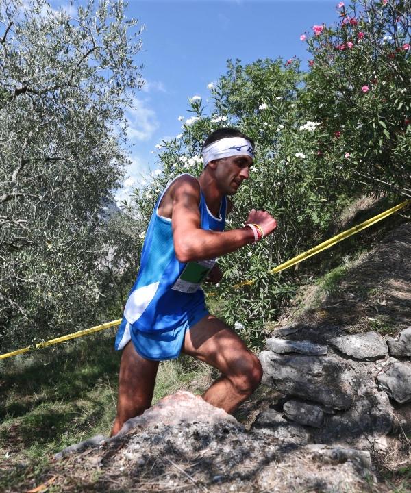 Bernard Dematteis, Castle Mountain Running 2015. Fonte: press gara