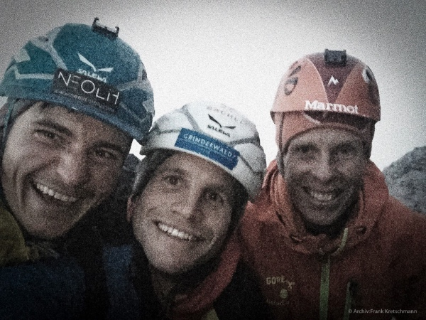 "Gietl, Schaeli, Jasper su ""Odyssee"". Foto: Frank Kretschmann. Fonte: rogerschaeli.ch"