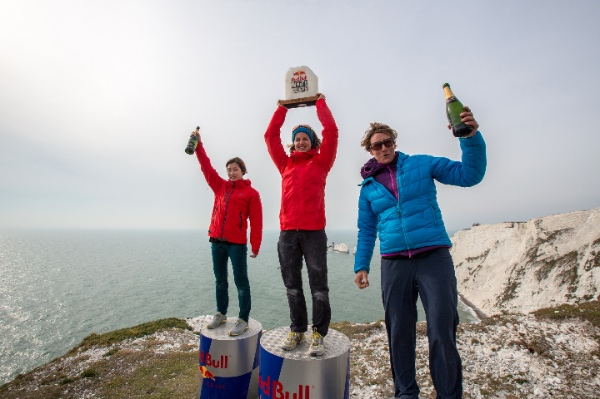 White Cliffs 2015. Podio femminile. Foto: Jon Griffith