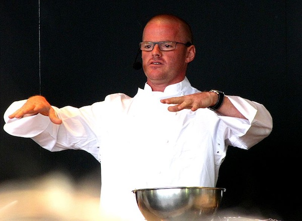 Heston Blumenthal a Londra nel 2010. Foto: Brian Minkoff, London Pixels. Fonte: it.wikipedia.org