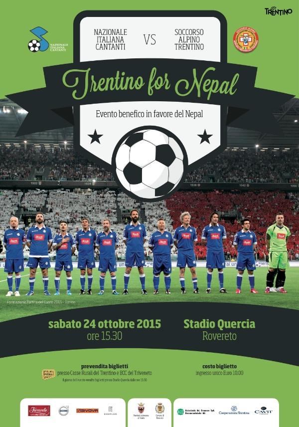 Trentino for Nepal 2015. locandina