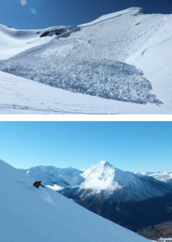 """Immagini dal programma """"Sicuramente sulla neve"""""""