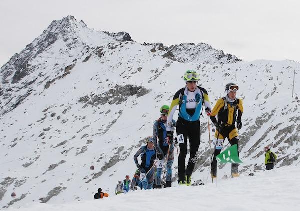 Adamello Ski Raid Junior: Canclini-Brida. Fonte: press gara