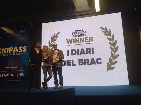 "Best Sport Project 2015 a Massimo Braconi, per ""I Diari del Brac""."