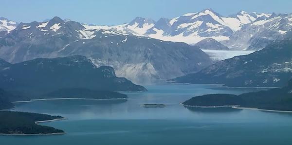 """Frame dal documentario """"Sulle tracce dei ghiacciai: missione in Alaska"""" di F. Ventura. Fonte: www.youtube.com"""
