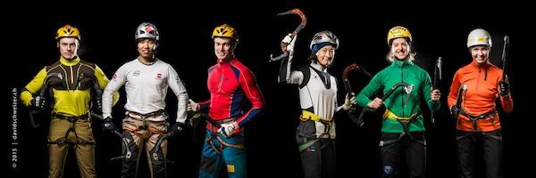 I migliori ghiacciatori al mondo. Foto: UIAA/David Schweizer