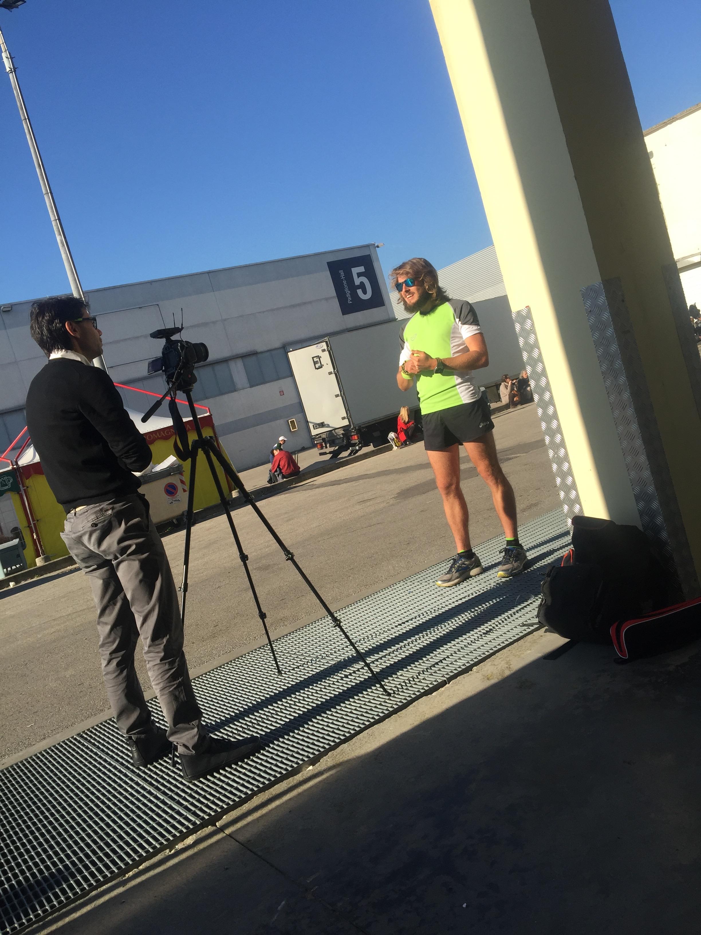 Andrea Bianchi intervista Andrea Budu Toniolo - Copyright Alice Bianchi