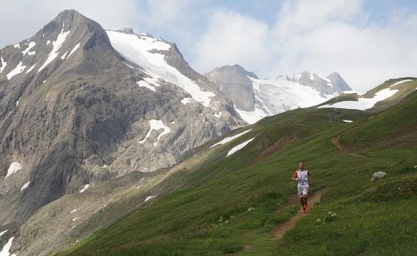 Val Formazza. Il vincitore 2015 della 34 chilometri, Minoggio. Fonte: organizzazione Bettelmatt Ultra Trail