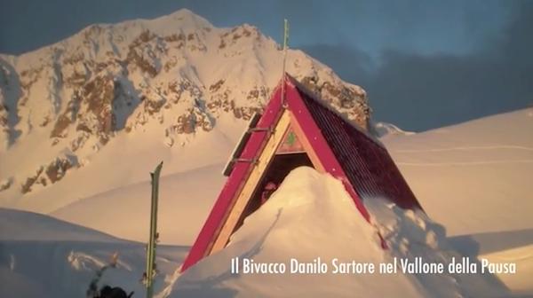 """Immagine da mostra """"Valle Maira d'Inverno... nella neve in punta di piedi"""", edizione 2014 - Fonte: www.youtube.com"""