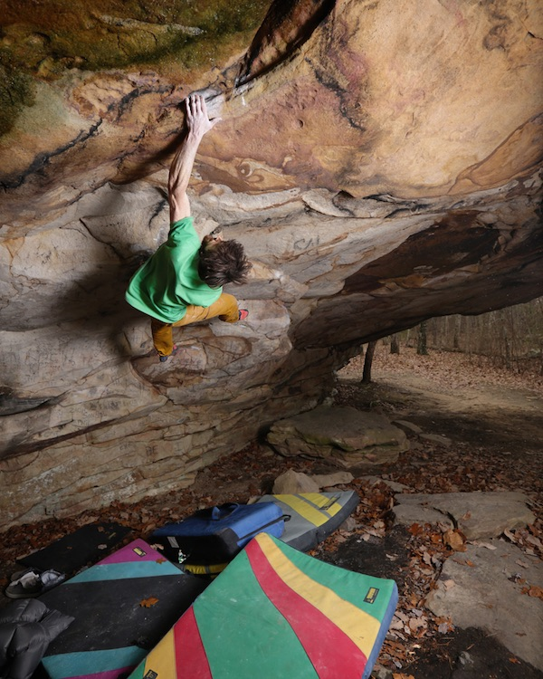 "Jimmy Webb su ""The Matriarch"" (V15). Foto: John Wesely"
