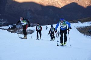 Memorial Danilo Re: prova di scialpinismo. Foto: Nanni Villani