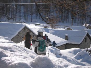 Escursione sulla neve con le ciaspole. Fonte: NaturAlp