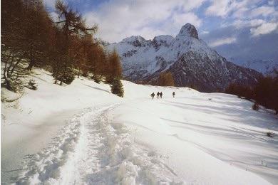 escursione sulla neve dal Rifugio Colombè di Paspardo. Fonte: rifugiocolombe.it