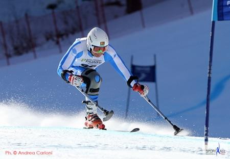 Coppa del Mondo di Sci Paralimpico. Foto: Andrea Carloni.