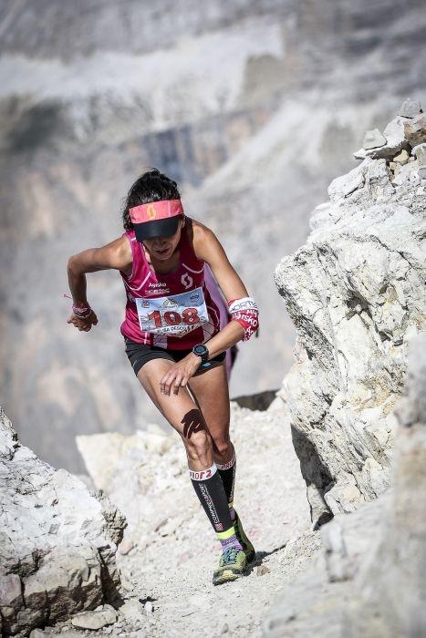 Dolomites Skyrace 2015: Elisa Desco (3a classificata). Fonte: www.dolomiteskyrace.com