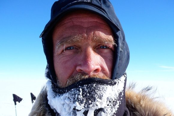 Henry Worsley. Fonte immagine: thesundaytimes.co.uk