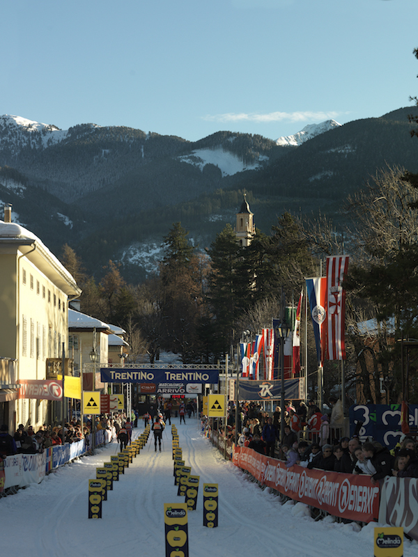Cavalese, Marcialonga race, Fiemme Valley; Valle di Fiemme, Italy