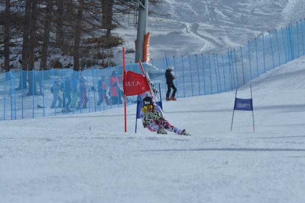 Campionati Sciistici delle Truppe Alpine. Sestriere 2016. Stephanie Brunner, vincitrice del Gigante di Coppa Europa. Fonte: Esercito