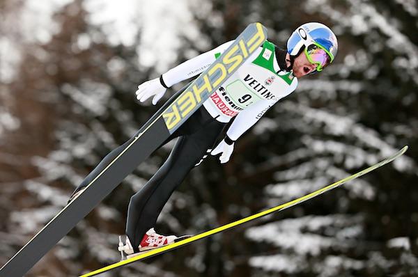 Combinata Nordica, Val di Fiemme. Salto con gli sci dal trampolino