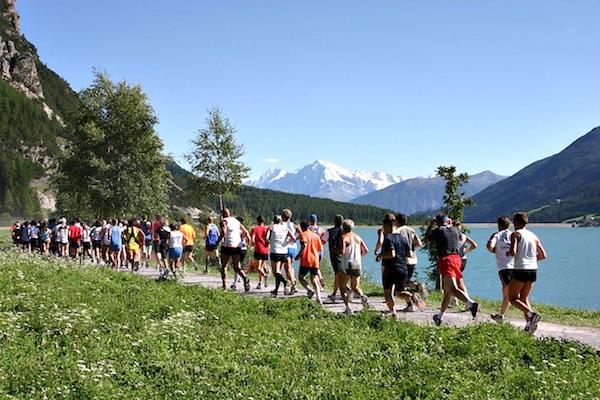 Giro del Lago di Resia. Fonte: press gara