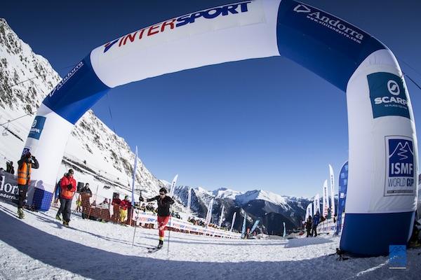 Kilian Jornet Burgada, Vertical Race - ISMF World Cup Ski Mountaineering 2016, Font Blanca. Fonte: ISMF