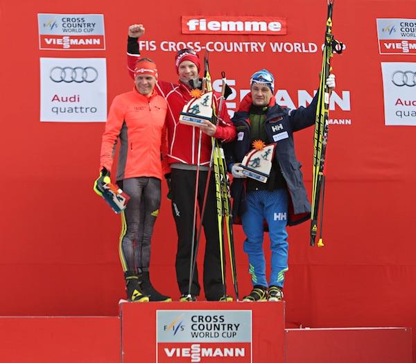Rampa con i Campioni 2016, podio maschile. Fonte: fiemmeworldcup.com