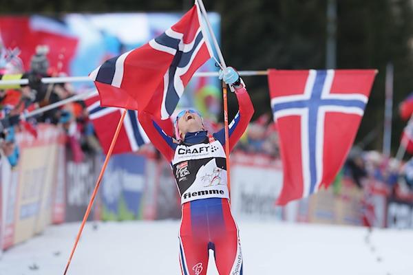 Therese Johaug, vincitrice della Final Climb al 10° Tour de Ski in Val di Fiemme. Fonte: fiemmeworldcup.com
