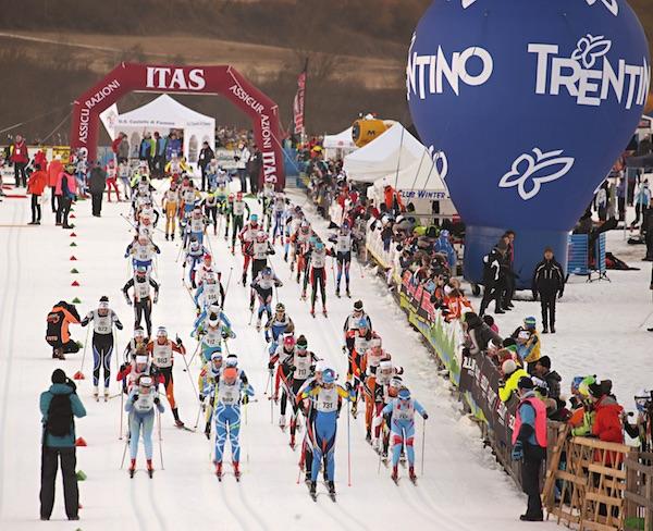Trofeo Topolino Sci di Fondo 2016. Gruppo cat. Ragazzi (F). Fonte: press evento.