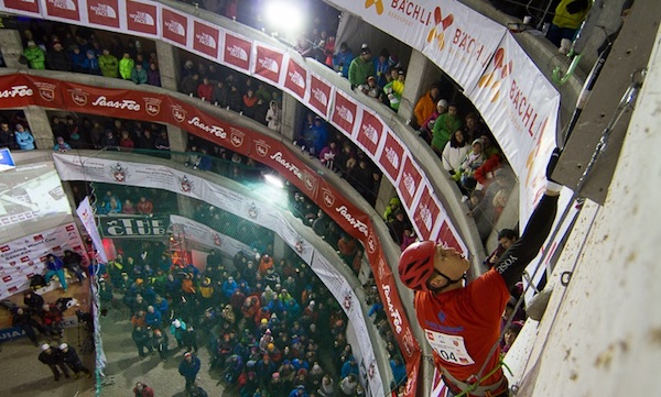 UIAA Ice Climbing World Cup Saas Fee. Fonte: UIAA
