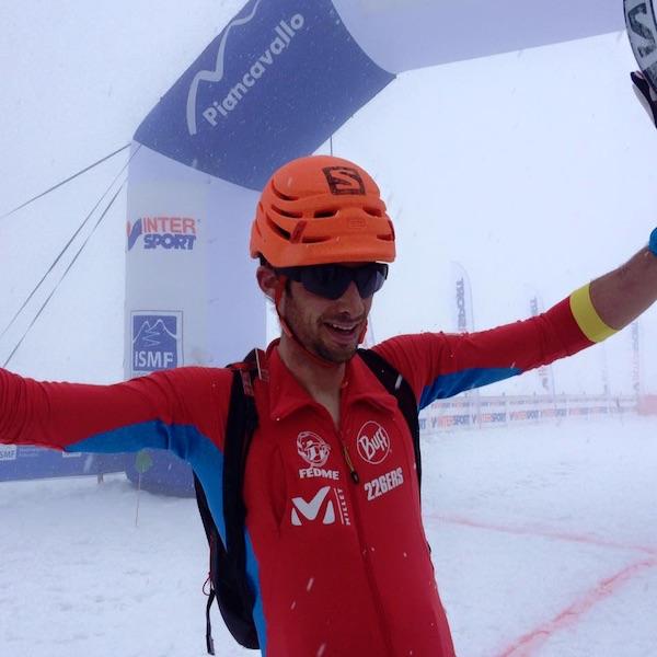 Kilian Jornet Burgada, Individual Race, Transcavallo 2016. Fonte: pagina facebook Transcavallo
