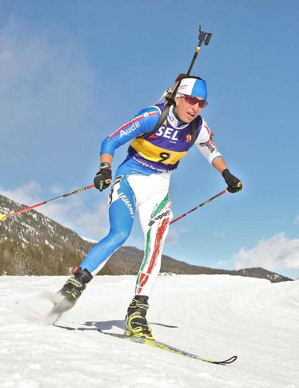 Biathlon. Roberta Fiandino. Fonte: press IBU Cup Biathlon 2016
