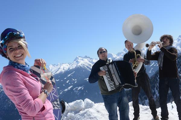 Val di Fiemme, Dolomiti Ski Jazz, concerti sulle piste da sci