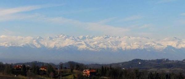 Le Alpi viste da Torino. Fonte: Uncem