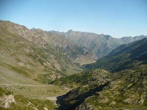La Conca del Pra in cui si trova il Rifugio Willy Jervis - Fonte: Wikipedia, utente Francofranco56