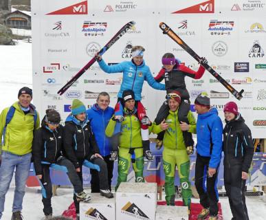 18° Millet Tour du Rutor Extreme, podio. Fonte: press Millet